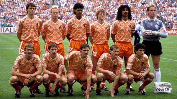 Orange team 1988  The only Orange team ever to win a prize in 1988, the European Championship in Munich 2-0 against Russia. Most famous players were Ruud Gullit and Marco van Basten both one of the best players that time around. Van Basten made a glorious goal, a true beauty and very rare in such important games as final games are.