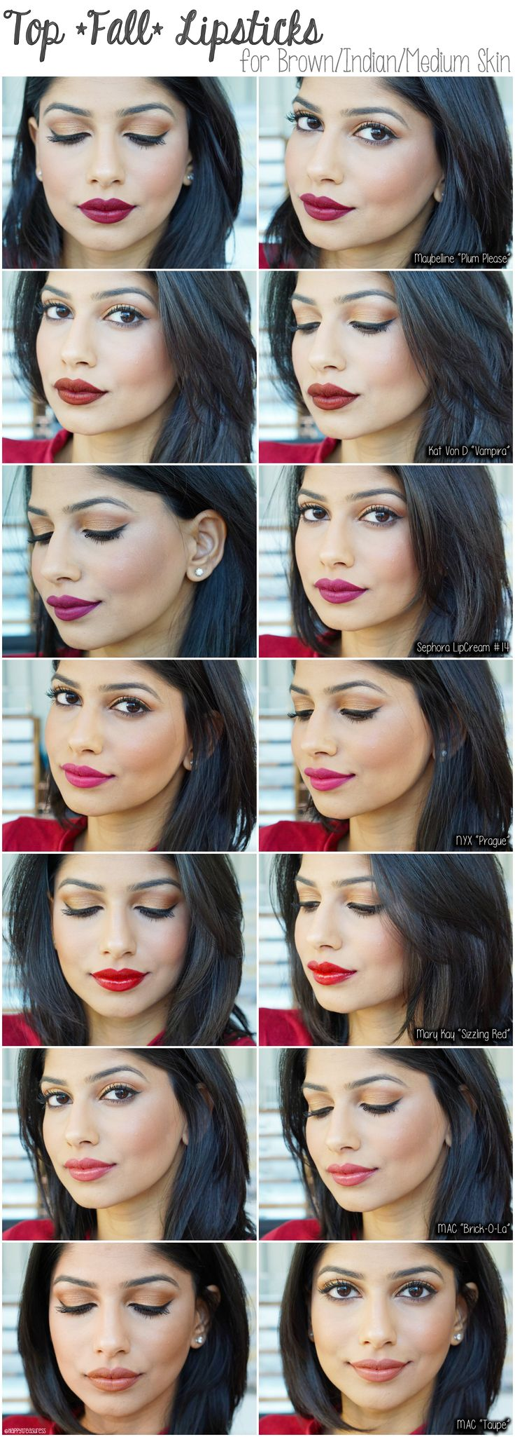 Best Top Mac Lipsticks Ideas On Pinterest Brown Mac Lipstick - Best mac lipsticks shades for all type of skin tone