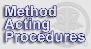 Method Acting Procedures