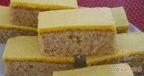 Sárga tetejű diós sütemény