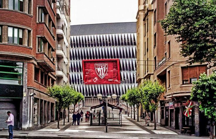 Bilbao. Nuevo campo de fútbol de San Mamés