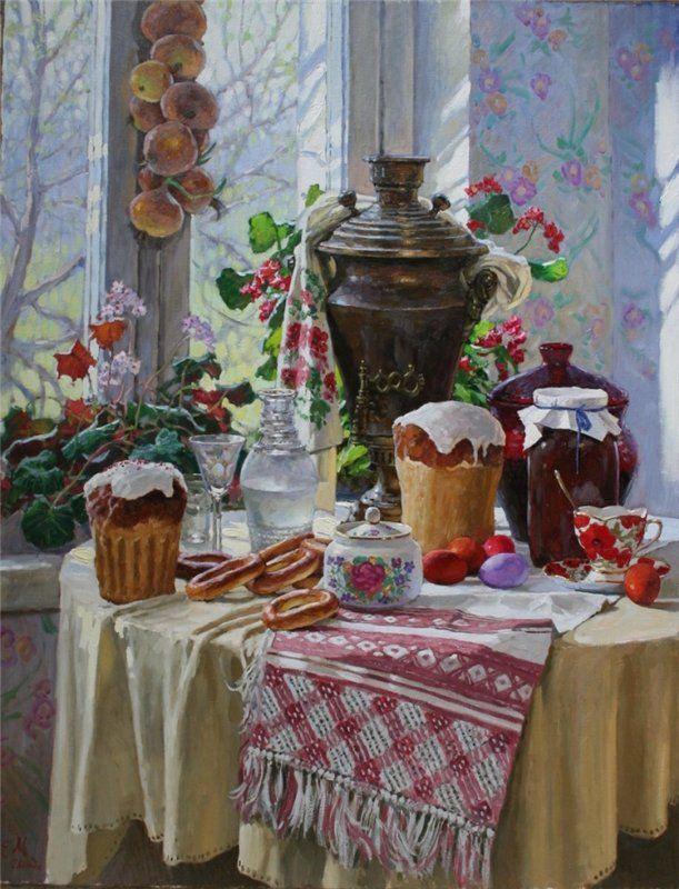 Евгений Муковнин Пасхальный натюрморт