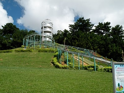 Favorite slide park in Okinawa, Japan