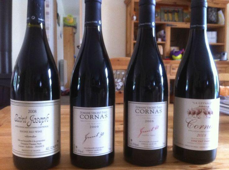 Vincent Paris' wonderful wines