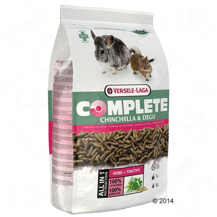 Animalerie  Versele-Laga Complete pour chinchilla et octodon  2 x 175 kg