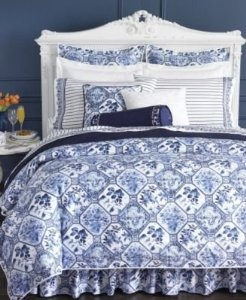 Ralph Lauren Delft Bedding I Used Sheets From This