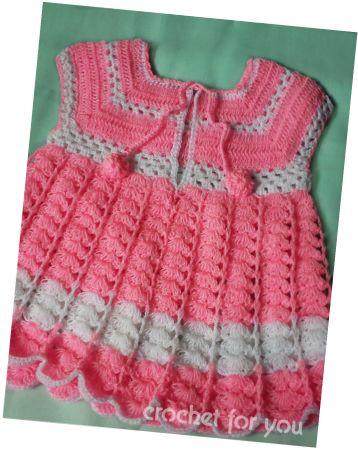 Baby Girl Dress (Free Pattern)