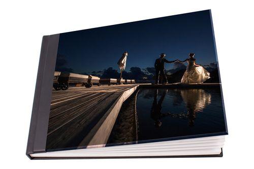 Beautiful Perspex Wedding Album Cover