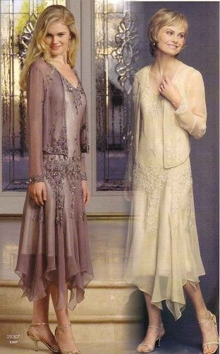 Mother of the Bride Dress/ love the one on the left.