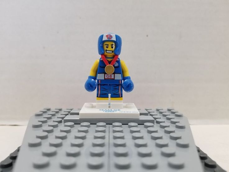 LEGO Collectible Minifigure Olympic Series Team GB Boxer #LEGO