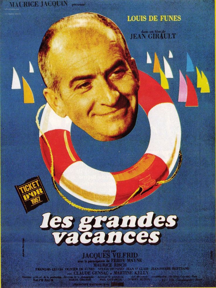 "The Exchange Student (1967) ""Les grandes vacances"" (original title) Stars: Louis de Funès, Ferdy Mayne, Martine Kelly ~  Director: Jean Girault"