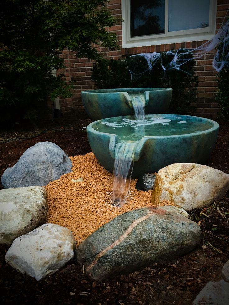 338 best water feature pros images on pinterest water for Pond waterfall spillway ideas