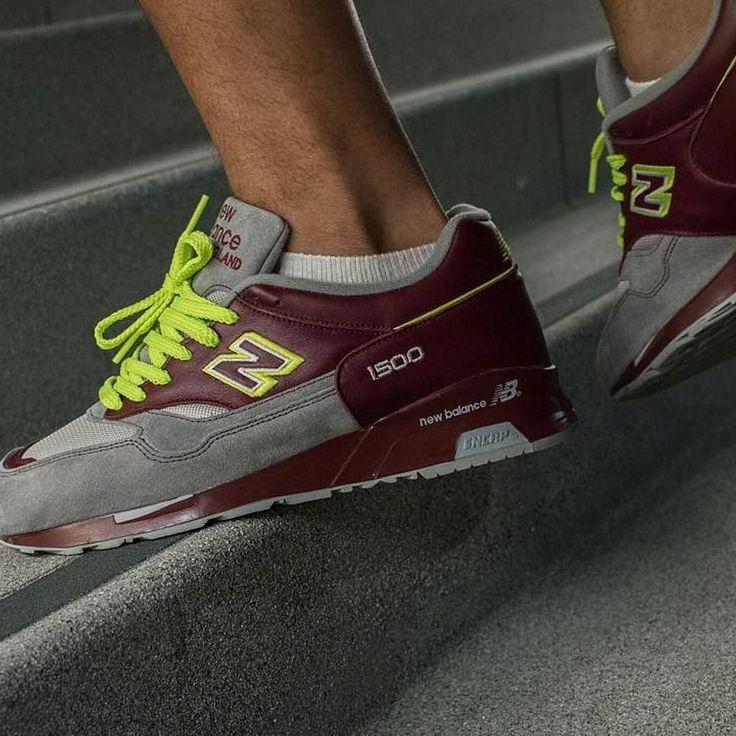 dope color way of the NB1500 Nice  by @everydaimday  . #m1500ppg #madeinengland #wdywt #aeropooch365 #sneakerhead #kickstagram #sadp #igsneakercommunity #soletoday  #sneakershots #runners #teamnb #nicekicks  #theshoegame #undftdsoles #bloodrunsblack #solecollector #kickstagram #kicksonfire #nbgallery #kicksoftheday  #kicksaddict #thosenbs #teamnb #runnergang #solenation #nbgallery1500 #trocsneakers #walklikeus