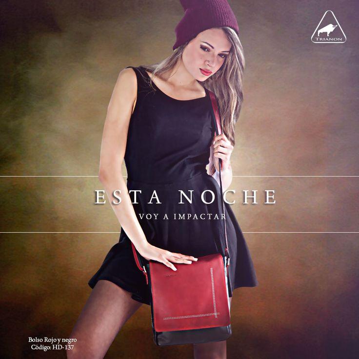 ¿Lista para salir de viaje? Los bolsos son tus mejores aliados, tendrás un #Look cómodo sin dejar de lado el #estilotrianon #billeteras #leather www.trianon.com.co
