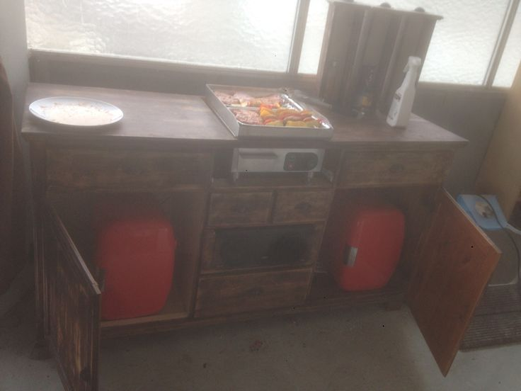 Grill-Sideboard