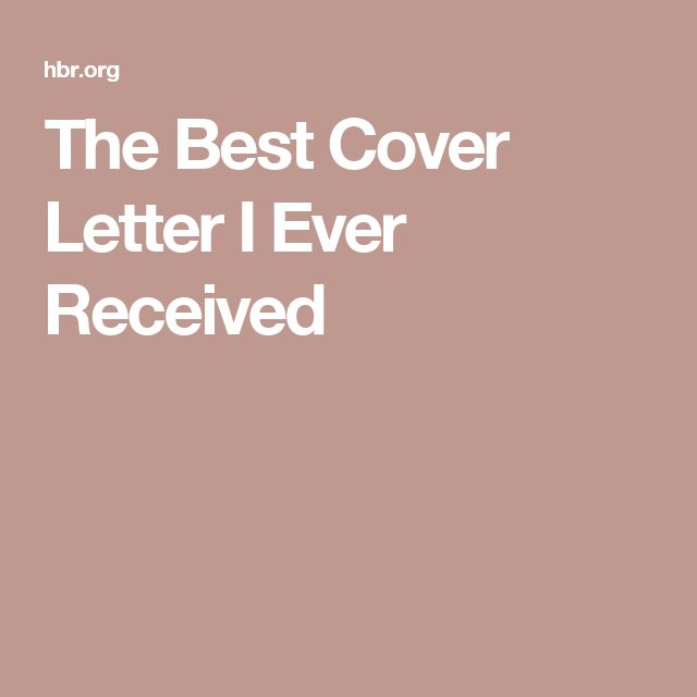 Best 25+ Best Cover Letter Ideas On Pinterest | Job Cover Letter