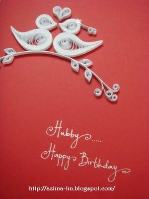 love birds Cute for an anniversary card