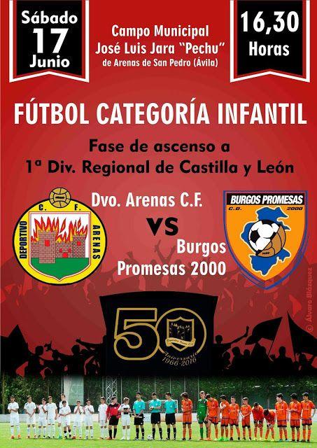 TietarTeVe en Gredos: Fútbol Categoría Infantil: Dvo. Arenas - VS - Burg...