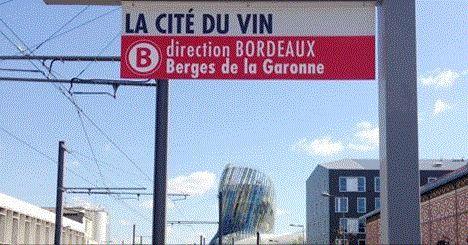 XTU_La Cité du Vin // La Cité du Vin, le nouvel arrêt de la ligne B du tram
