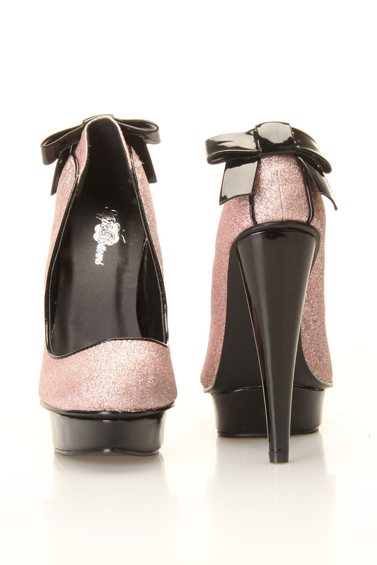 Greta Pumps In Pink Oh MY!