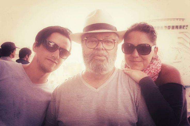 aire marino con mi amor Nelson y mi profe querido Augusto Gonzales, con cariño EL CUBANO