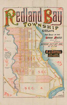 Estate Map - Redland Bay 1888