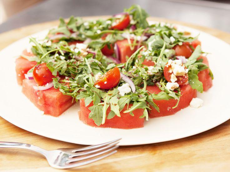 How to Green | Рецепт быстрого салата с арбузом и фетой