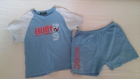 Súprava tričko a šortky veľkosť 140  a2e4f222d7