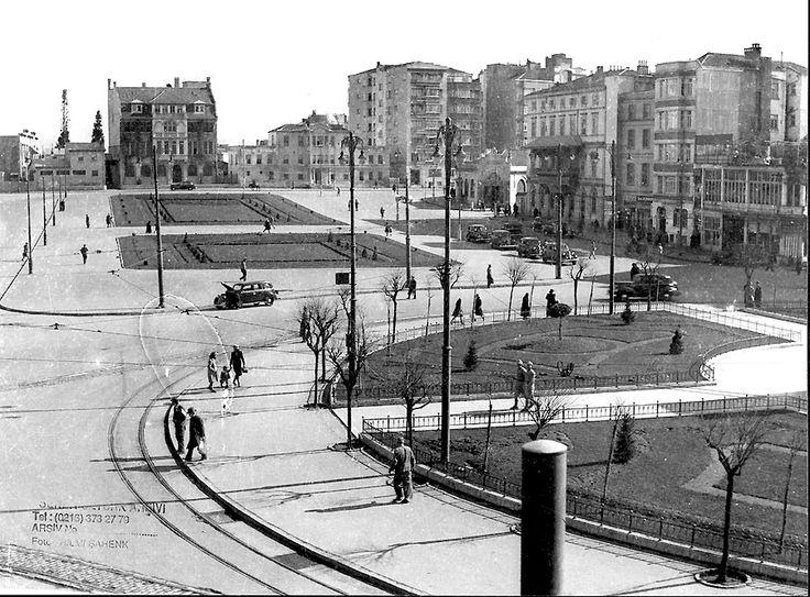 Taksim 1930 #istanbul #turkey #taksim #square