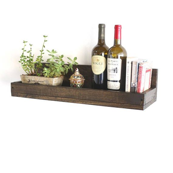 24 Floating Shelf Rustic Wall Shelf Floating Shelves Wood Wall Shelf Wall Mounted Storage Shelves Ikea Floating Shelves Reclaimed Wood Floating Shelves Rustic Wall Shelves