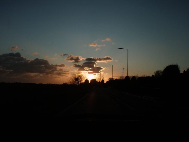 road sunset lll by lana coupe