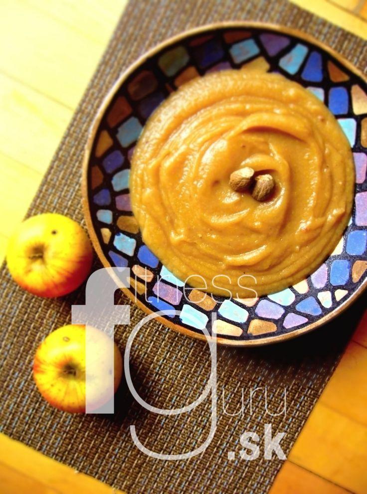 Domácí kořeněné jablečné pyré