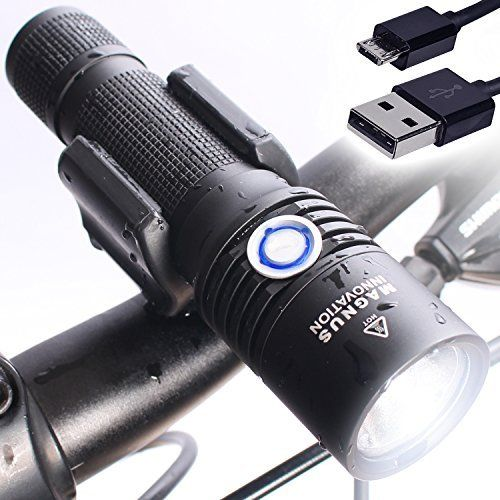 Vision II USB Bike Light, Extra Battery for Longer Rides, Super Bright 860 Lumens Rechargeable Headlight Fits all Mountain Bikes, Road Bicycle, Waterproof, Installs in Seconds - Satisfaction Guarantee - http://mountain-bike-review.net/products-recommended-accessories/vision-ii-usb-bike-light-extra-battery-for-longer-rides-super-bright-860-lumens-rechargeable-headlight-fits-all-mountain-bikes-road-bicycle-waterproof-installs-in-seconds-satisfaction-guarantee/ #mountainbike #m