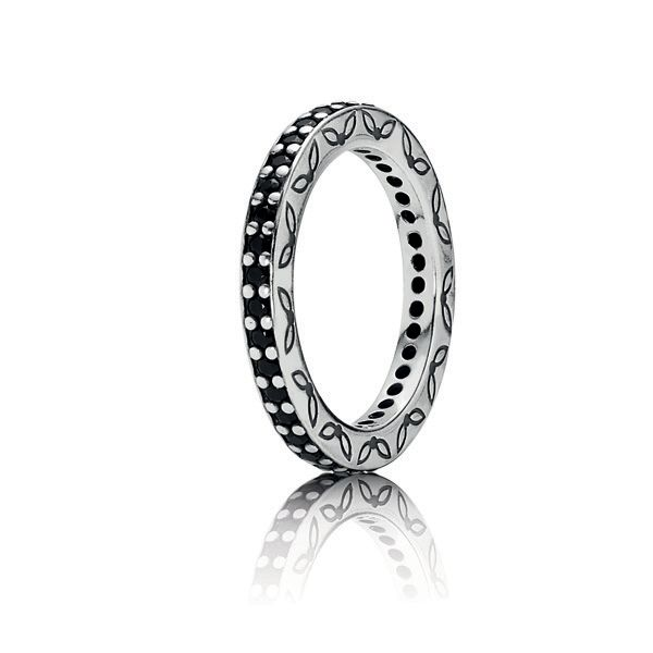 Shop for Pandora Eternity, Black Crystal Ring Authentic at Pandoraeu.  Browse a abnormality of styles and edict online.