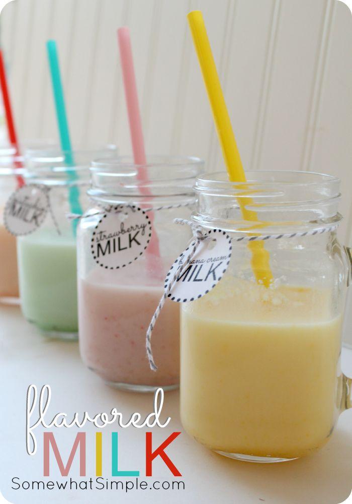flavored milk 1