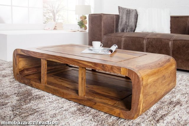 Konferenční stolek ROUND HONEY