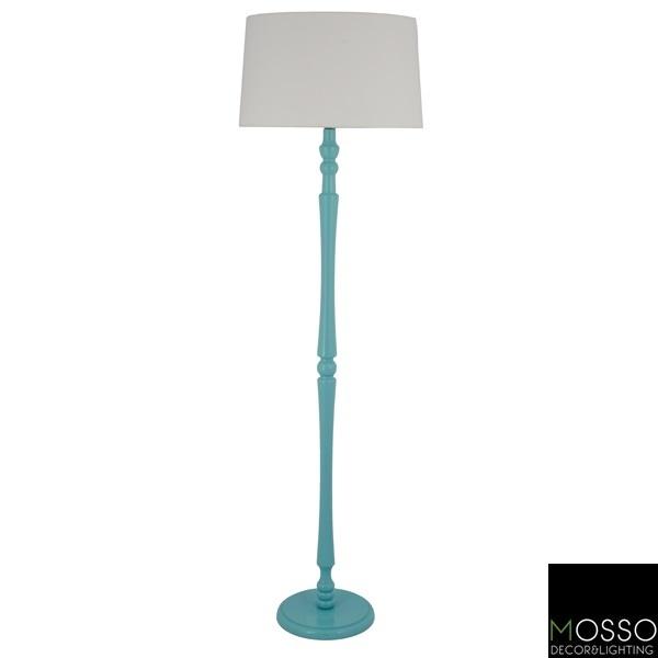 Silva Floor Lamp (Lambader)  Wooden Floor Lamp-Handcrafted