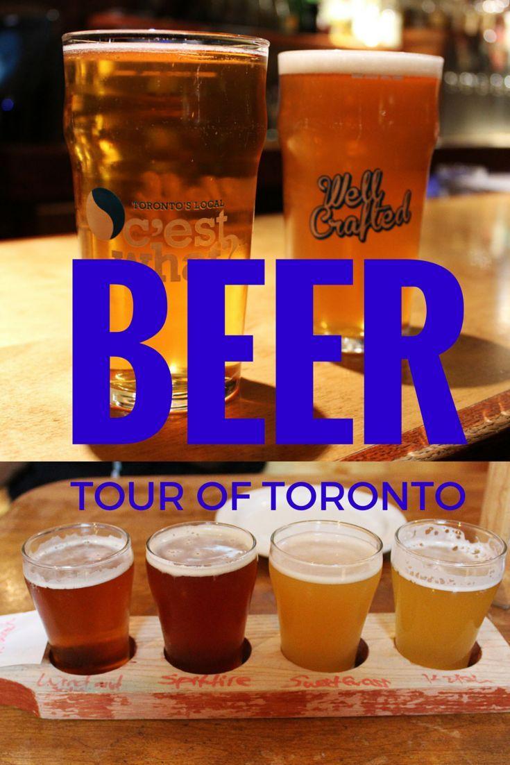 Toronto Beer Tour - Craft Beer Meets Historic Walking Tour