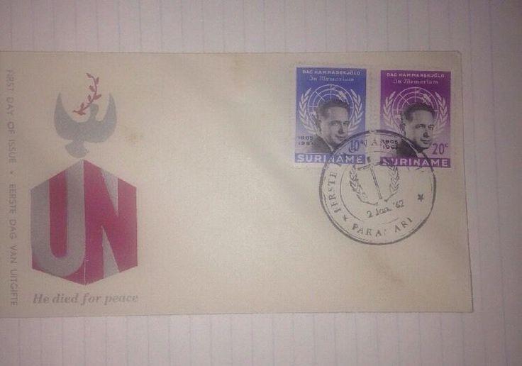 United Nations- FDC Envelope- EERSTE DAG VAN UITGIFTE- L@@K -WOW!  | eBay