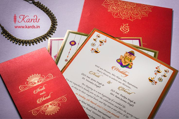 The color red adorned with golden foil never fail to make an invitation elegant !! Together they make a simply beautiful and classy invitation :-)  #kards #red #goldfoil #golden #elegant #rich #grand #stylish #classy #traditionalcolors #vibrant  #traditional #appeal #wedding #invitation  #indianwedding #shaadi #desi #inidanbride #groom #socialgathering #friends #relatives #happywedding