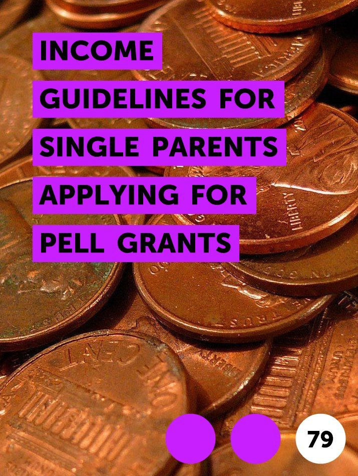 Income Guidelines For Single Parents Applying For Pell Grants In 2020 Tax Deductions Cash Assistance Single Parenting