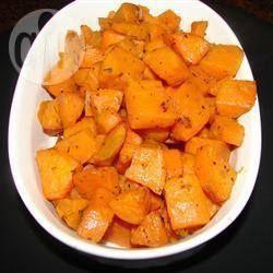 Gebakken zoete aardappel @ allrecipes.nl  Yammie