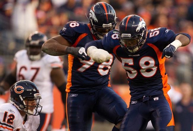 Denver Broncos' Defensive Depth Chart vs. Chicago Bears