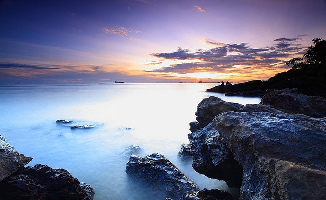 Banua Semayang Patra beach, BaLikpapan, East KaLimantan, Indonesia