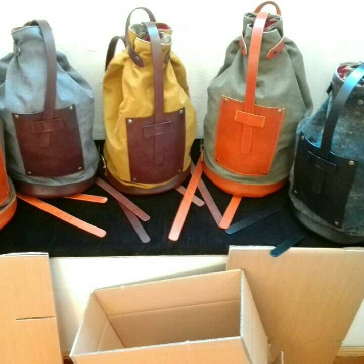 Bottiglito Backpacks are ready to ship for new horizons! FOR UNCONVENTIONAL PEOPLE ONLY!!