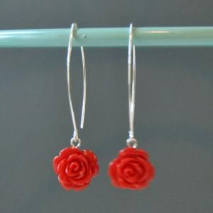 Long red roses | Billy Rose | Handgemaakte juwelen