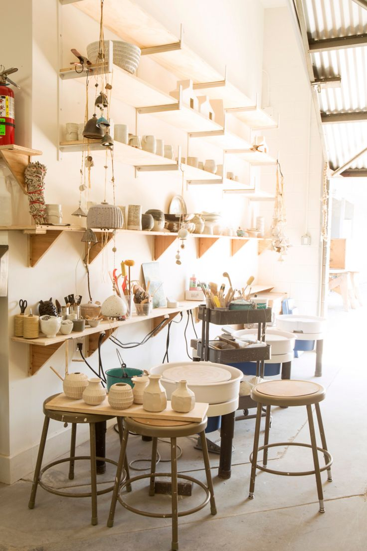 Studio Shelves photo by Diana Koenigsberg