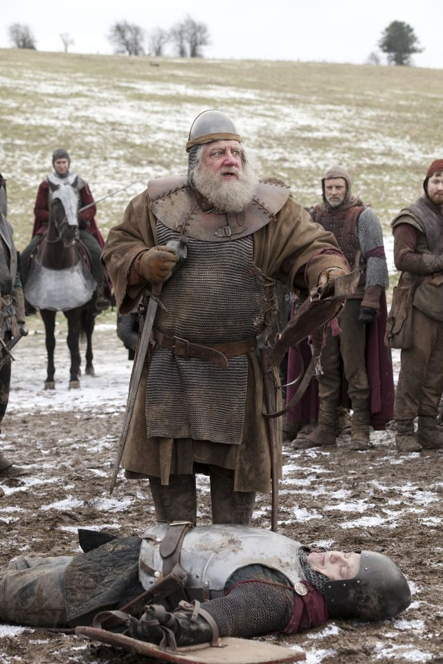 Simon Russell Beale as Falstaff - Hollow Crown.  Great Actor.