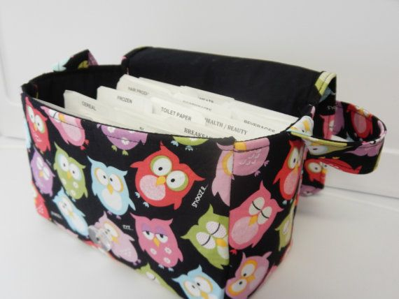 Medium Coupon Organizer Holder Attaches to by GrandmasLittleLilly