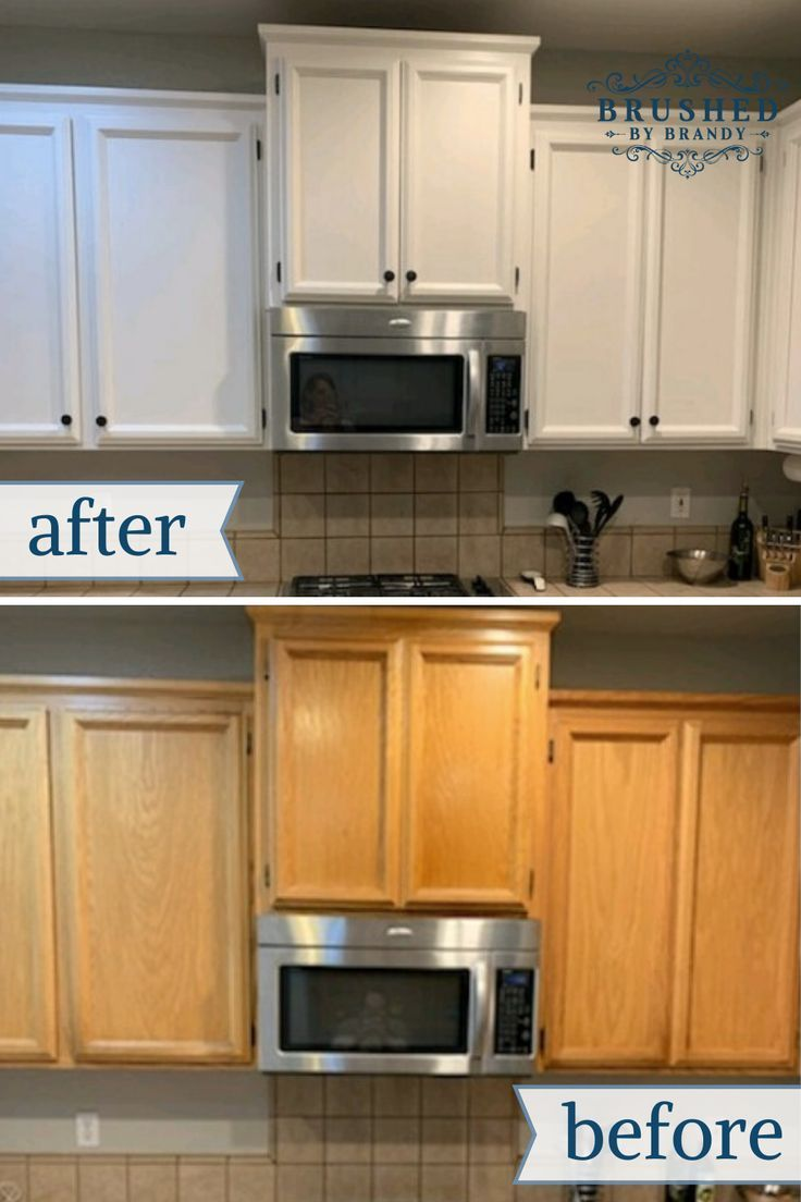 My First Kitchen Cabinet Paint Makeover In 2020 Diy Kitchen Cabinets Painting Chalk Paint Kitchen Cabinets Painting Kitchen Cabinets White